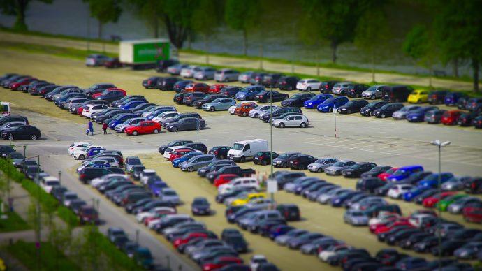 スパリゾートハワイアンズの駐車場